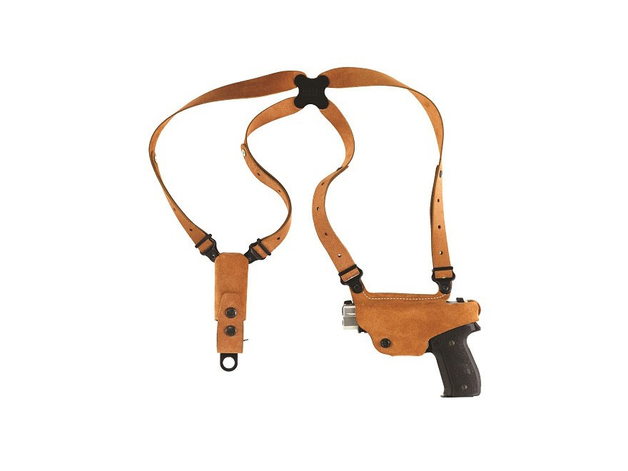 Galco Classic Lite Shoulder Holster System Glock 42, Kahr CW9, CW40, P9, P40, MK9, MK40...