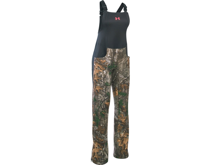 Under Armour Women's UA Stealth Insulated Bibs Polyester Realtree Xtra Camo