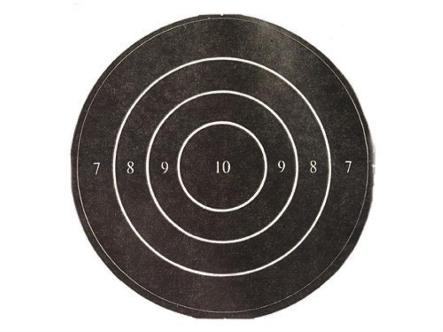 "Lyman Replacement Bullseye 3"" Slow Fire Self-Adhesive Black Pack of 50"