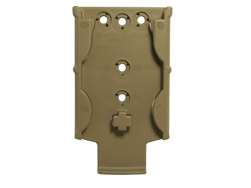 Safariland MOLLE Locking System MLS 18 Receiver Plate with Guard Polymer