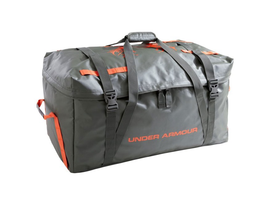 Under Armour UA Outdoor Gear Bag Tarpaulin Rifle Green and Dynamite
