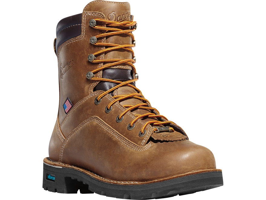 "Danner Quarry USA 8"" Waterproof GORE-TEX 400 Gram Insulated Non-Metallic Safety Toe Wor..."