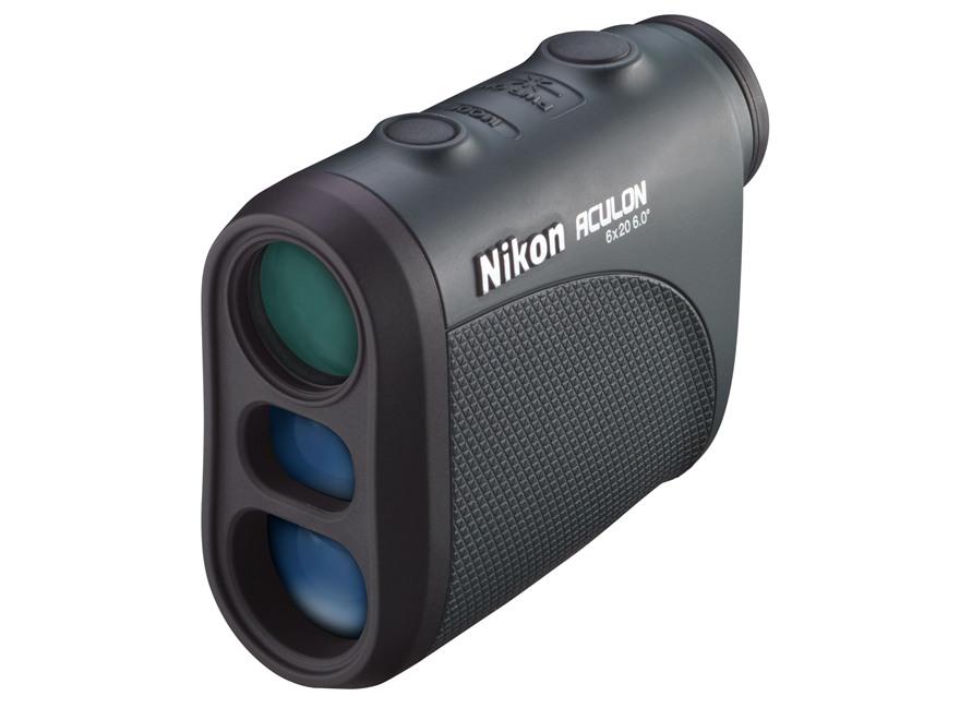 Nikon Aculon Laser Rangefinder 6x 20mm Black