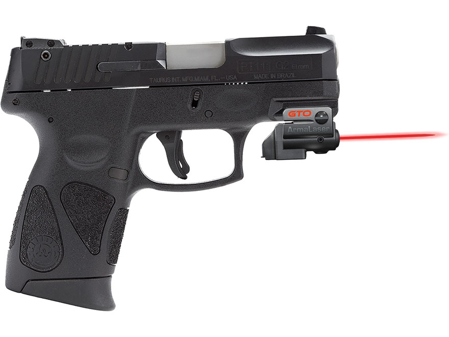 ArmaLaser GTO/FLX Series Laser Sight with True-Touch Activation Matte