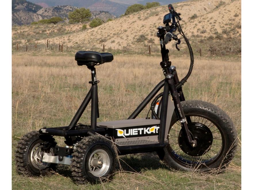 QuietKat Rancher 72 Volt Electric Utility Vehicle