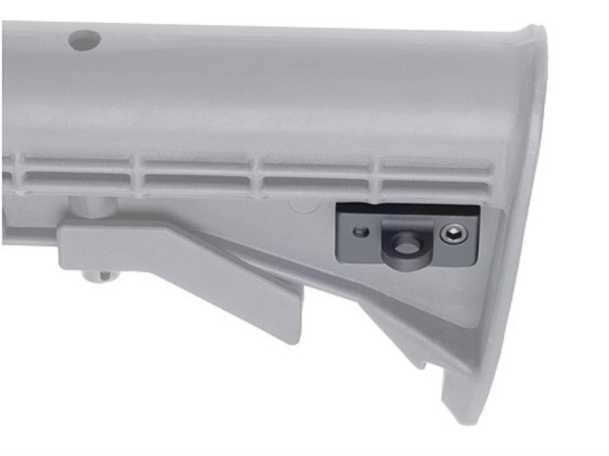 GG&G Sling Thing HK Loop Rear fits AR-15 Collapsible Stocks Aluminum Matte