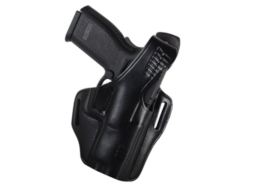 "Bianchi 56 Serpent Outside the Waistband Holster Right Hand Springfield XD 9, 40 4"" Lea..."