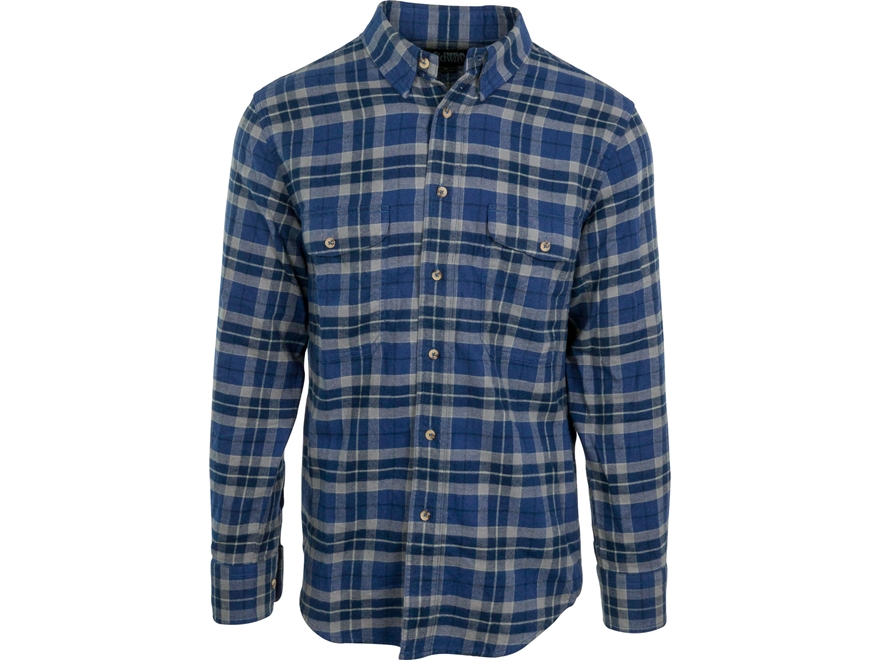 MidwayUSA Men's All Season Flannel Long Sleeve Shirt