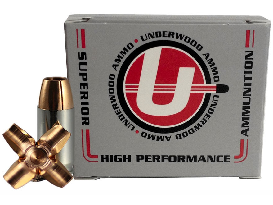 Underwood Ammunition 9mm Luger 105 Grain Lehigh Maximum Expansion Lead-Free Box of 20