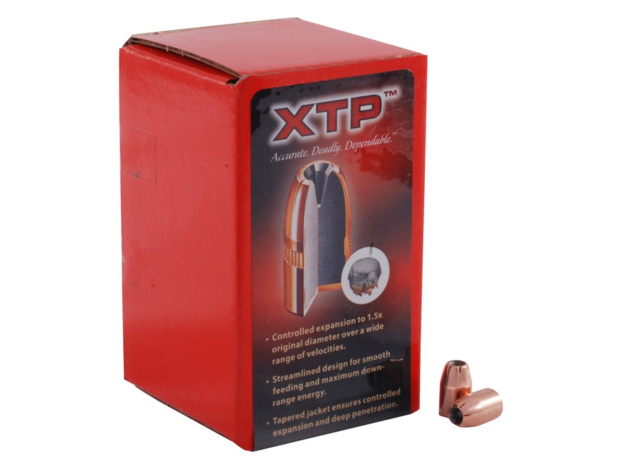 Hornady XTP Bullets 30 Caliber (309 Diameter) 90 Grain Jacketed Hollow Point Box of 100