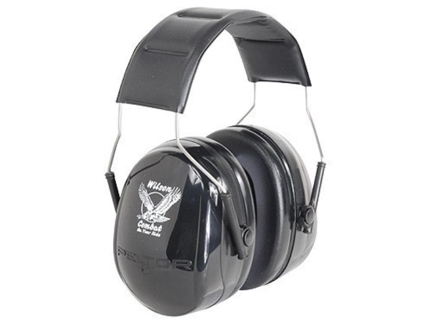 Wilson Combat Deluxe Earmuffs (NRR 22 dB) Black