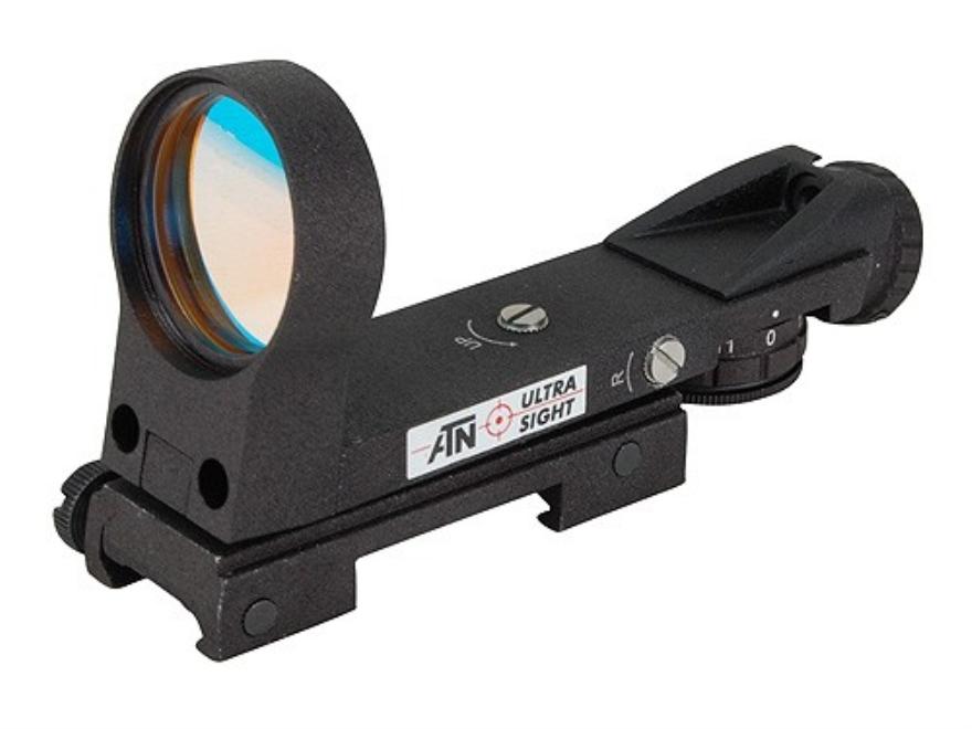ATN Ultra Reflex Red Dot Sight 33mm Heads Up Display 4-Pattern Reticle (2 MOA Dot, Cros...