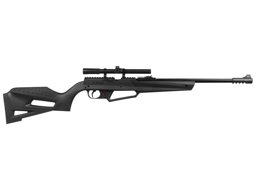 Umarex NXG APX Youth Pump Air Rifle 177 Caliber BB and Pellet Black Polymer Stock Blued...
