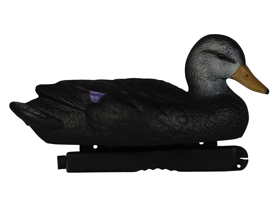 Tanglefree Pro Series Weighted Keel Black Duck Decoys Pack of 6