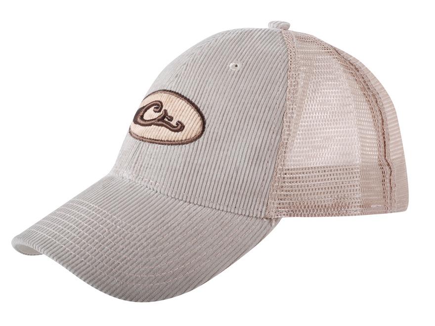 Drake Cord Mesh Trucker Cap Polyester Tan