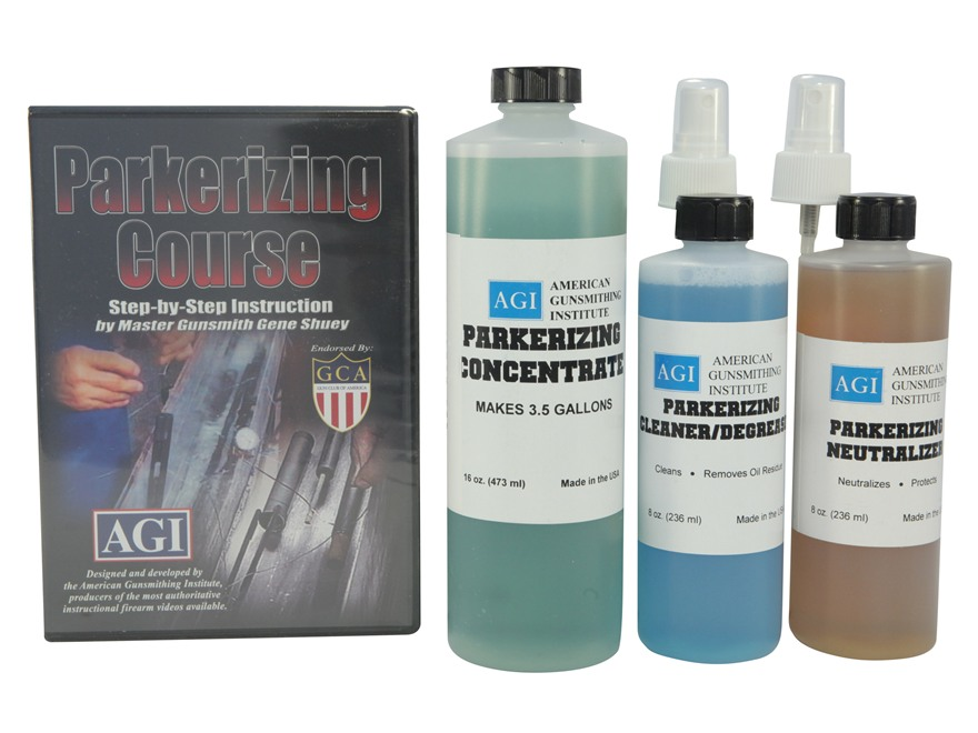 American Gunsmithing Institute AGI Parkerizing Kit With Step By DVD