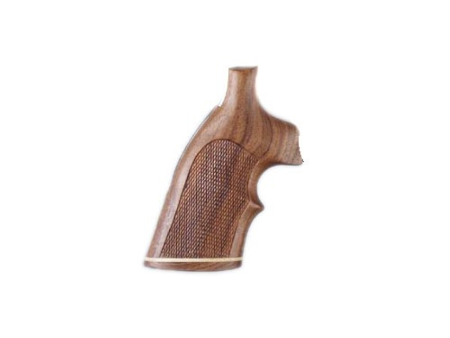 Hogue Fancy Hardwood Grips with Accent Stripe and Top Finger Groove Ruger GP100, Super ...