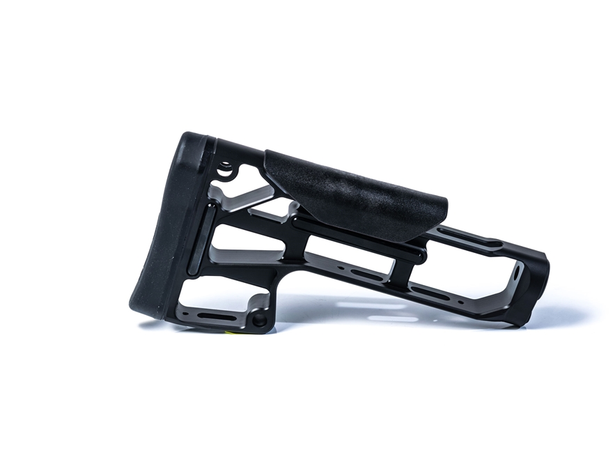 MDT Light Skeleton Rifle Stock for LSS-XL and HS3 Chassis Aluminum Black
