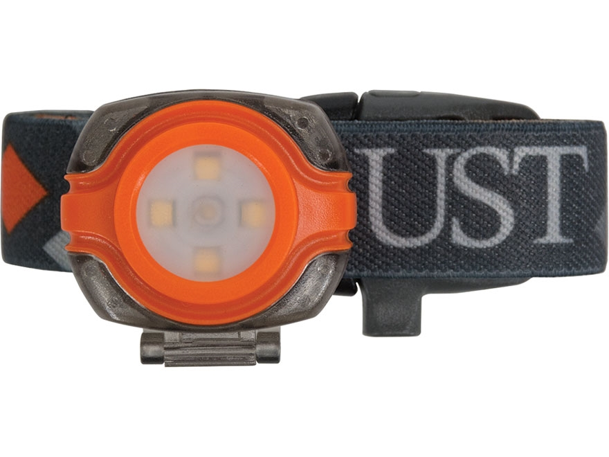 UST See-Me Headlamp LED with 2 CR2025 Batteries ABS Plastic Black