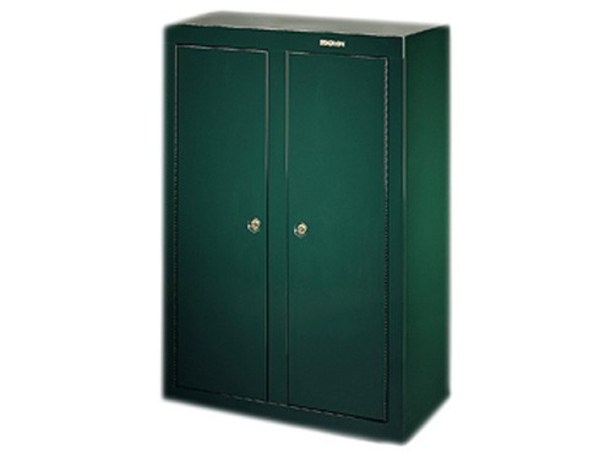 Stack on convertible 16 gun double door security cabinet green for 10 gun double door steel security cabinet