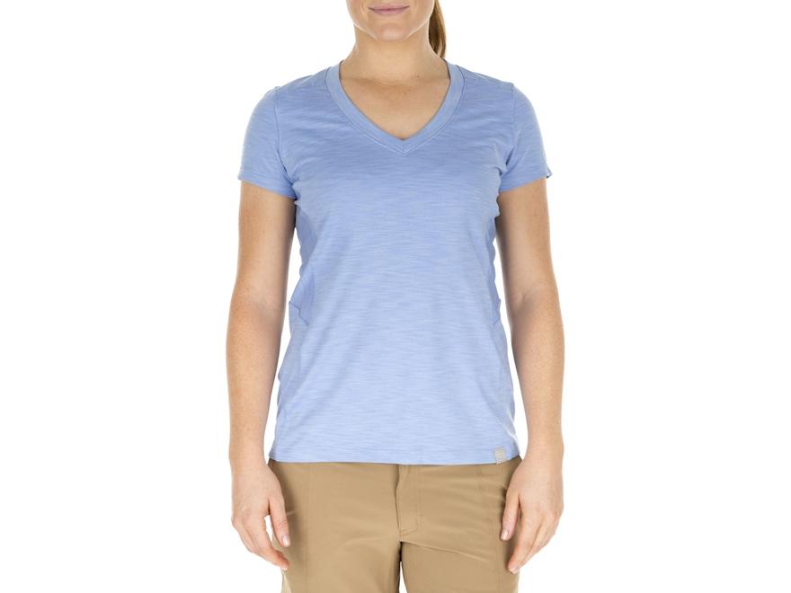 5.11 Women's Zig Zag V-Neck T-Shirt Short Sleeve Polyester