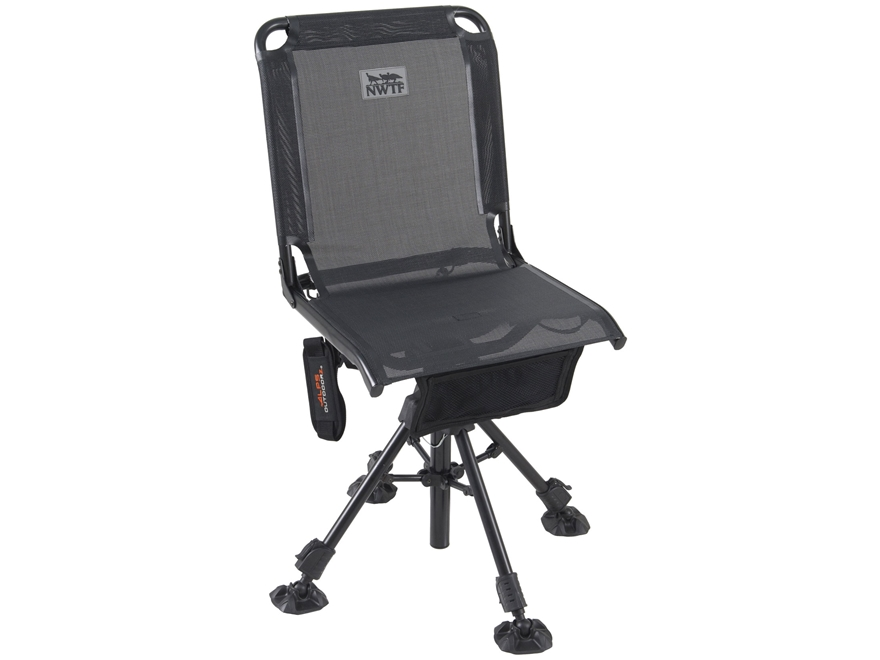 ALPS Outdoorz NWTF Roost Ground Blind Chair Black