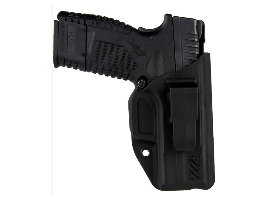 Blade-Tech Klipt Appendix Inside the Waistband Holster Right Hand Polymer Black