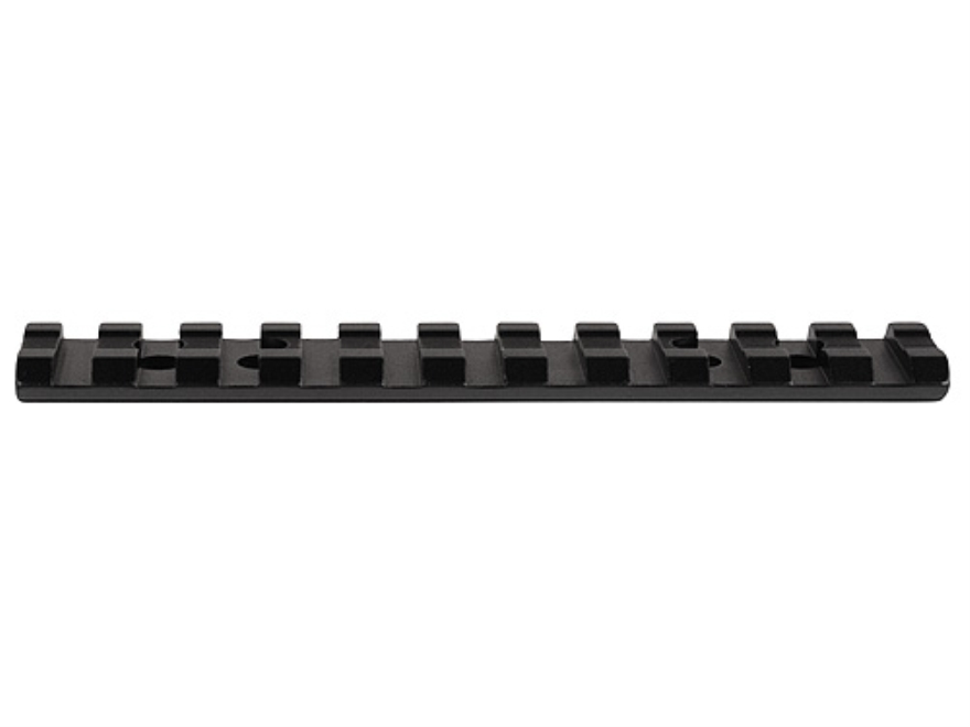 Millett 1-Piece Picatinny-Style Base Mossberg 500 (Pre-Drilled Receiver) Matte