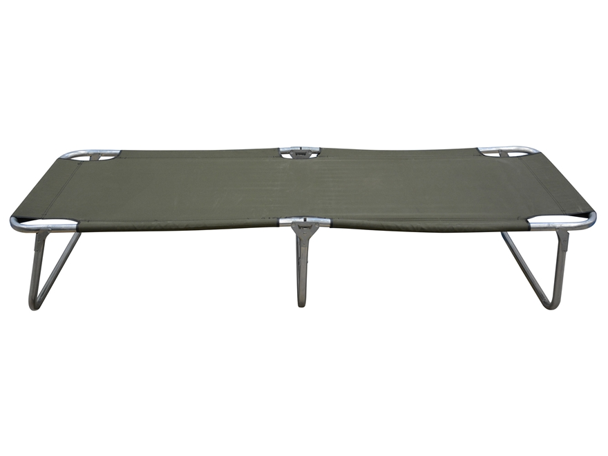 Military Surplus Folding Frame Cot Olive Drab