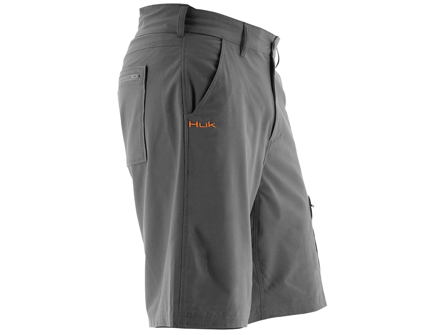 "Huk Men's Next Level Shorts 21.5"" Outseam Cotton Polyester and Spandex"
