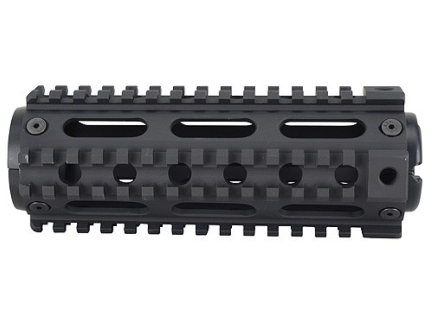 Yankee Hill Machine 2-Piece Handguard Quad Rail AR-15 Carbine Length Aluminum Matte