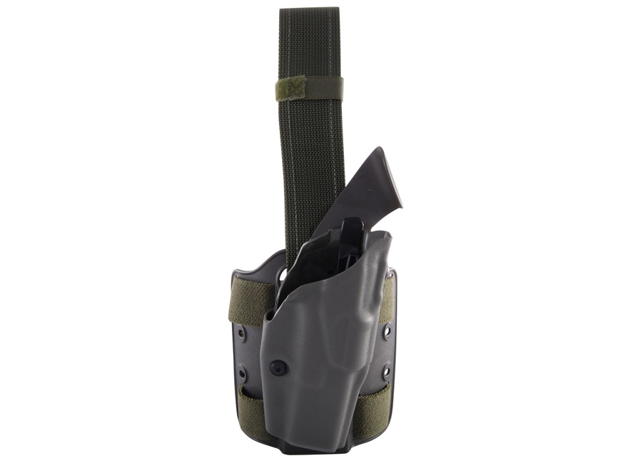 Safariland 6354 ALS Tactical Drop Leg Holster Right Hand Glock 17, 22, 31 Polymer Olive...