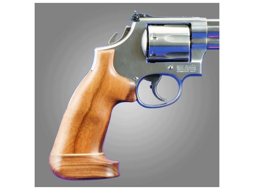 Hogue Fancy Hardwood Grips with Accent Stripe Taurus Medium and Large Frame Revolvers S...