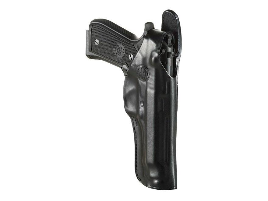 Beretta Mod. 4 Belt Holster Right Hand 92FS, 96 Leather Black