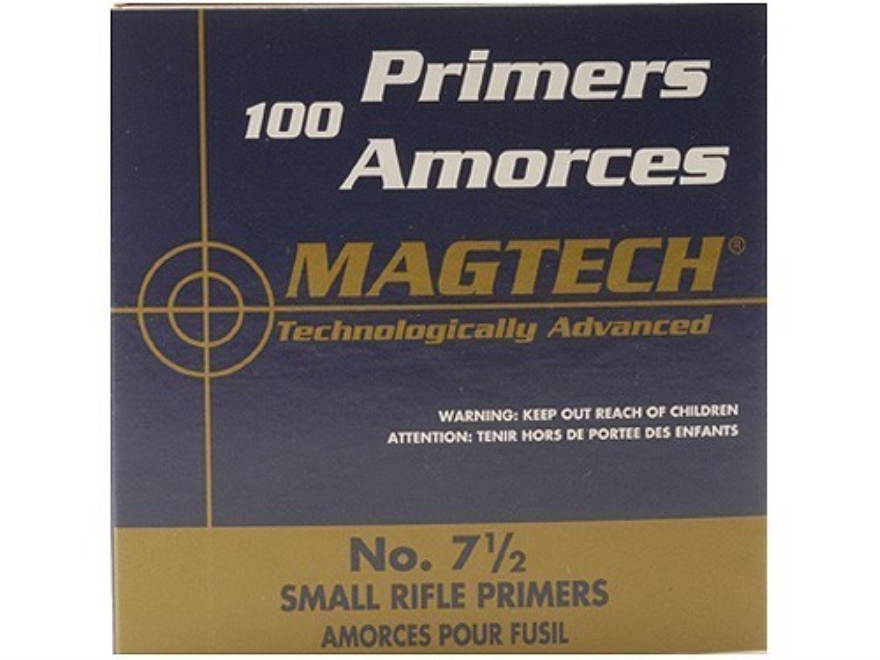 Magtech Small Rifle Primers #7-1/2 Case of 5000 (5 Boxes of 1000)