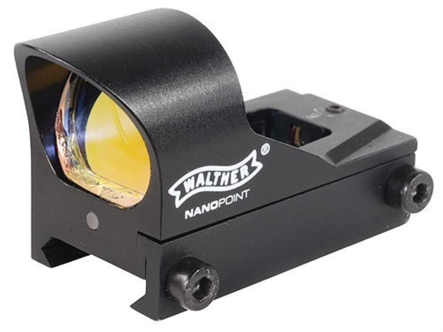 Walther Nano Point Red Dot Sight 3 MOA Dot Matte