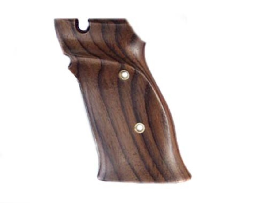 Hogue Fancy Hardwood Grips S&W 41 with Left Hand Thumb Rest