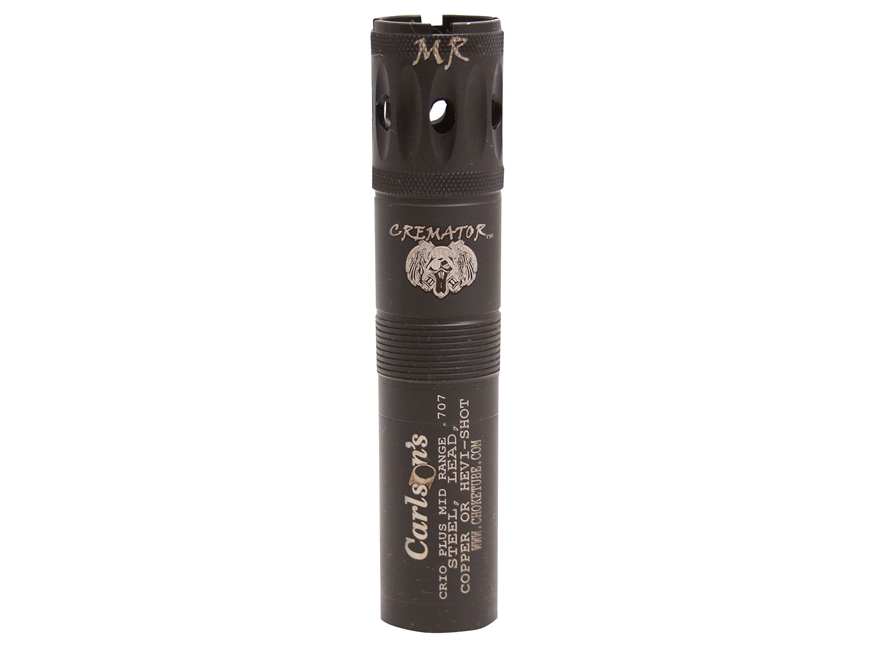Carlson's Cremator Extended Ported Choke Tube Benelli Crio, Crio Plus 12 Gauge