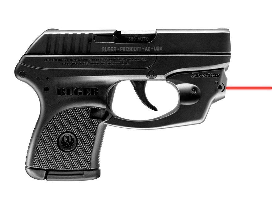 LaserMax Centerfire Red Laser Sight Ruger LCP Black