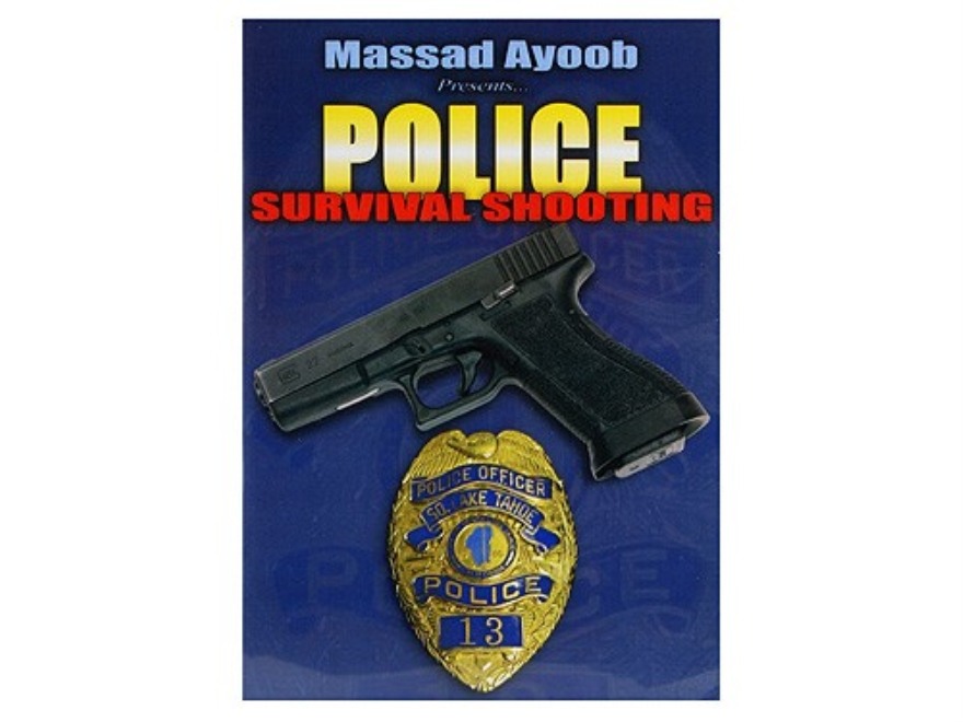 "Gun Video ""Massad Ayoob Presents: Police Survival Shooting"" DVD"