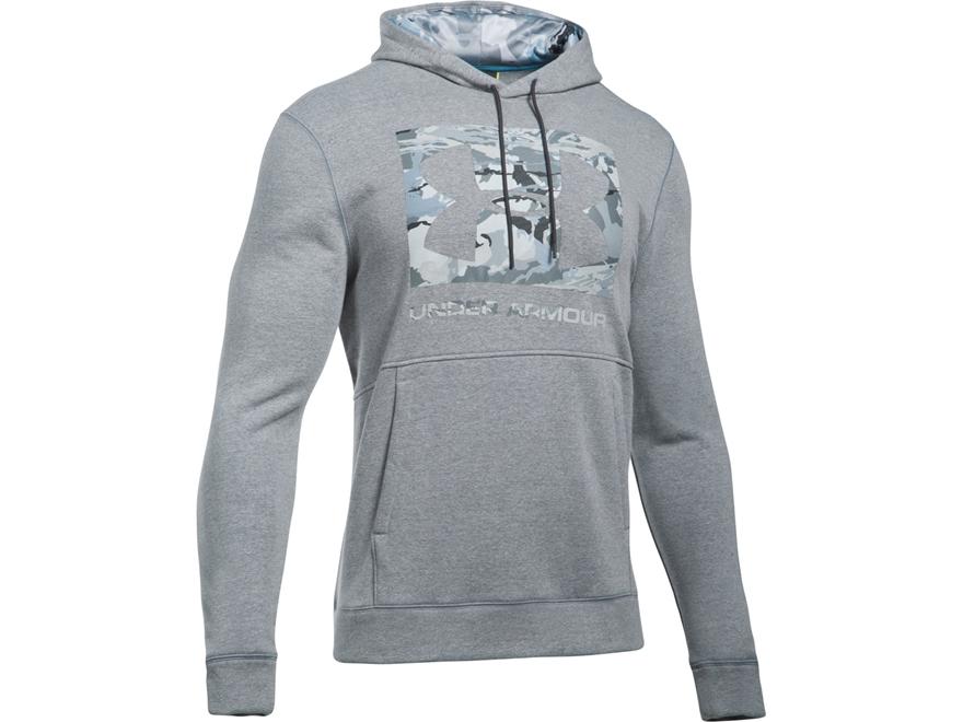 Under Armour Men's UA Threadborne Camo Fill Logo Hoodie Cotton/Poly