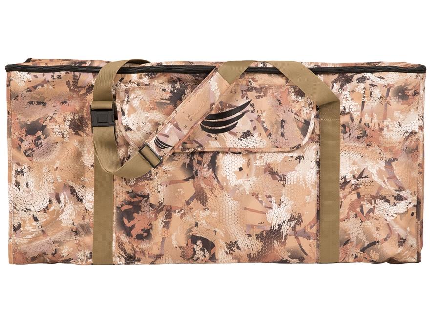 Tanglefree Flight Series 12 Slot Zipper Top Duck Decoy Bag