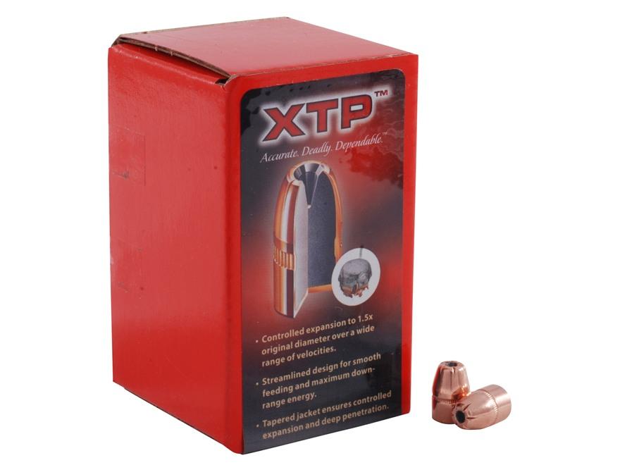 Hornady XTP Bullets 38 Caliber (357 Diameter) 125 Grain Jacketed Flat Nose Box of 100