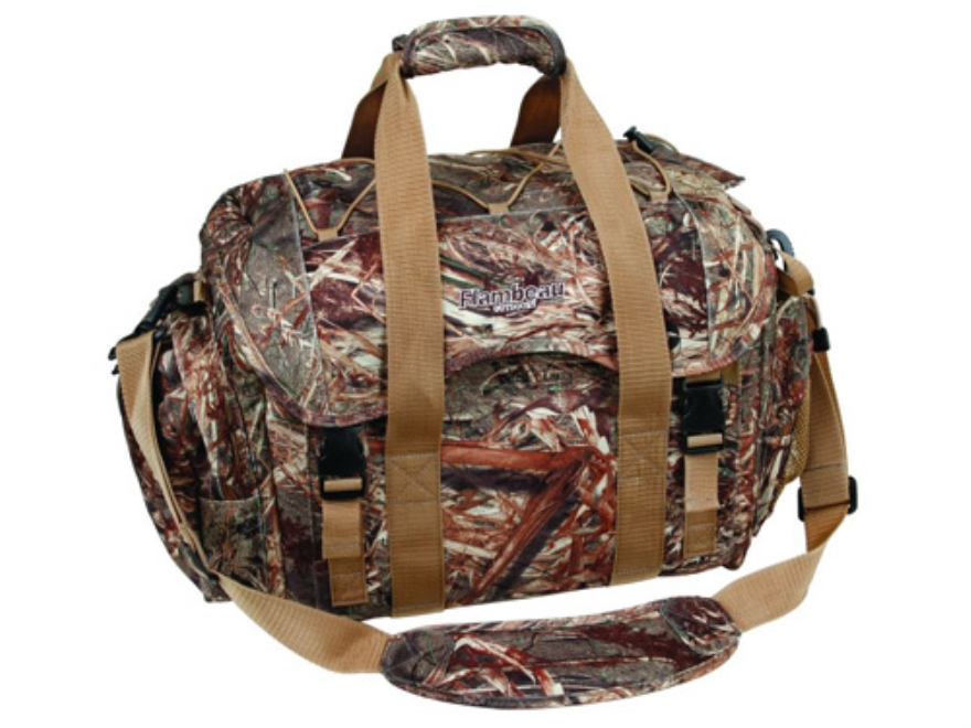 Flambeau Large Floating Blind Bag Nylon Mossy Oak Duck Blind Camo