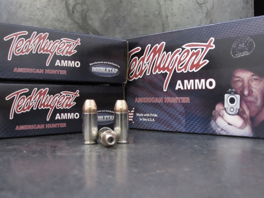 Doubletap Ted Nugent Ammunition 9mm Luger +P 115 Grain Sierra Jacketed Hollow Point Box...