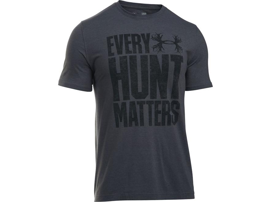 Under Armour Men's UA Every Hunt Matters T-Shirt Short Sleeve Poly/Cotton Blend
