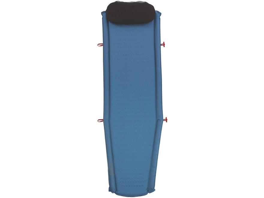 Coleman Silverton Self-Inflating Tall Sleeping Pad Polyester Blue