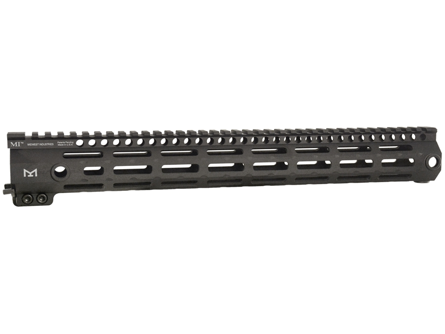 Midwest Industries 3GM Series Free Float Gen 3 M-LOK Handguard AR-15 Aluminum