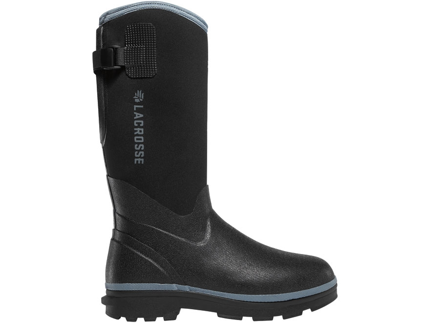 "LaCrosse 5mm Alpha Range 12"" Waterproof Insulated Work Boots Rubber Over Neoprene Black..."