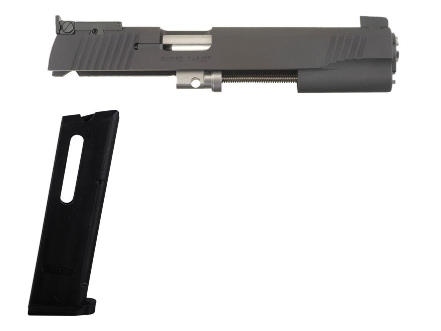 Kimber Rimfire Target Conversion Kit with Adjustable Sights 1911 Government 22 Long Rif...